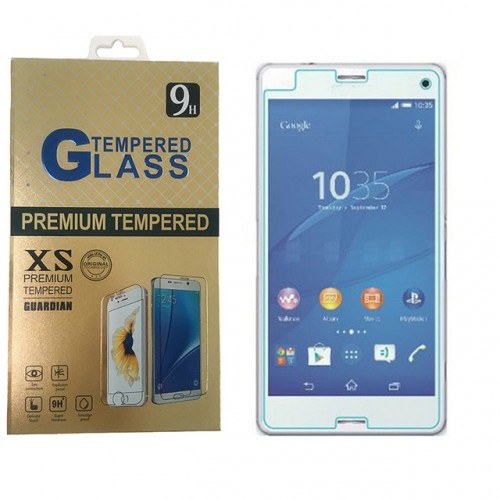 For z3 compact tempered glass for Sony Xperia Z3 Compact Screen Protector Front Explosion Proof Film.jpg 640x640