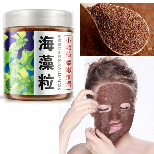 100% Natural Seaweeds Alga Mask for Acne Spots & Whitening Facial Mask