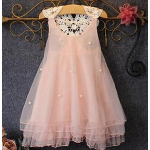 Baby Girl Party Pageant Lace Dress
