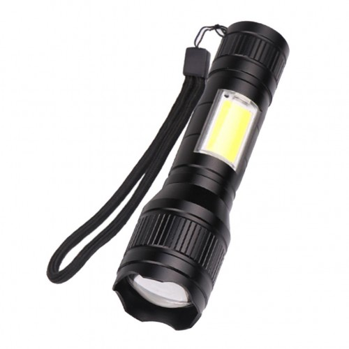 Tactical Military LED Zoomable Mini Flashlight