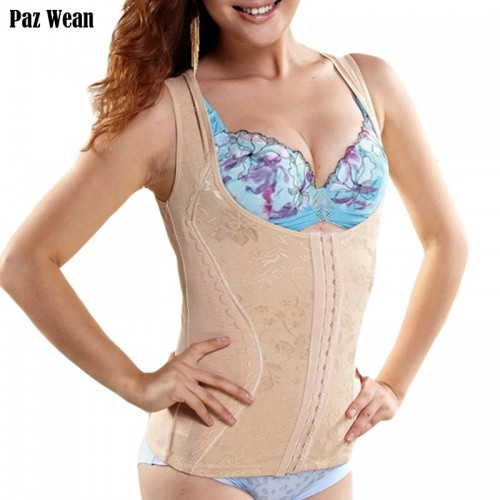 Tummy Shape Wear for Shapewear Women Body Shaper Slimming Corset Tummy Control Vest