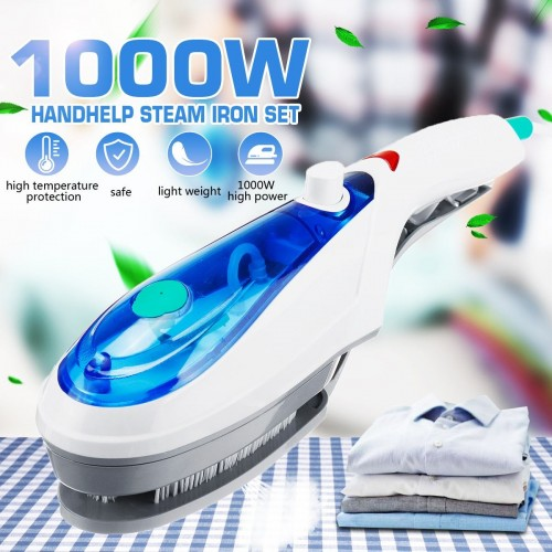 1000W Handheld Garment Steamer Brush Portable Steam Iron For Clothes High Quality