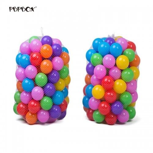 50Pcs Colorful Ball Ocean Balls Soft Plastic Ocean Ball Baby Kid Swim Toy High Quality Bath Toy