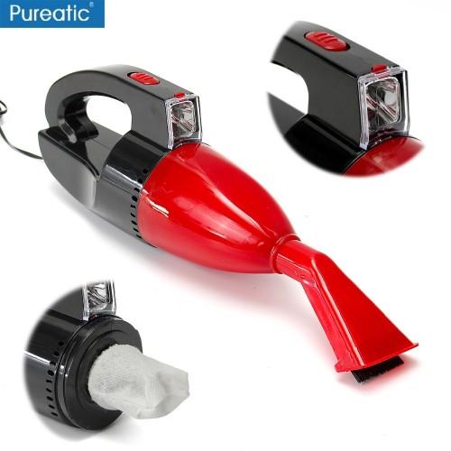 12V Wired Car Vacuum Cleaner 5m Cable Portable Handheld Mini Vacuum Super Suction Vacuum