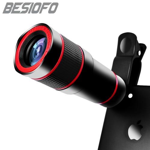 14X Zoom 4K HD Telephoto Phone Lens Optical Telescope Camera Lense For Mobile Phones