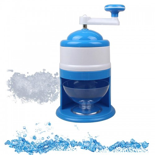 Ice Breaker Hand Crank Kitchen Tool Ice Crusher Snow Cone Maker Machine