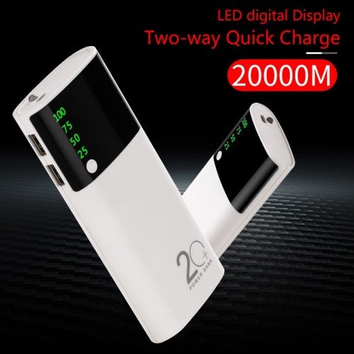 Powerbank LED Lighting Display External Batteri Portable Charger