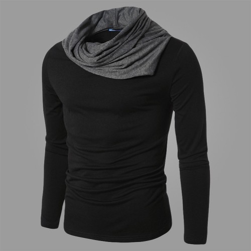 Solid Color Slim Long Sleeve T-shirt
