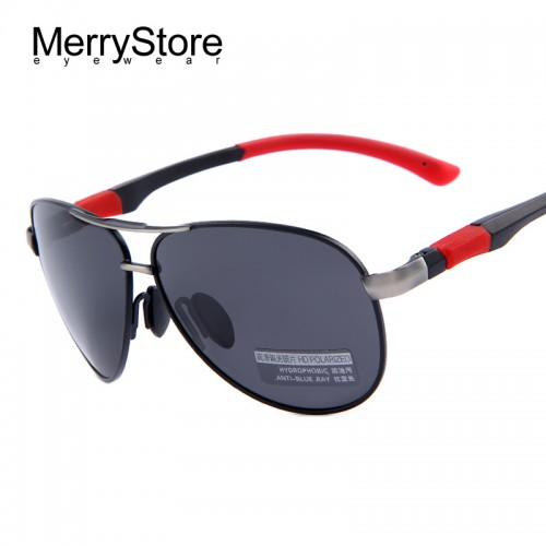 High quality HD Polarized Sunglasses With Original Case
