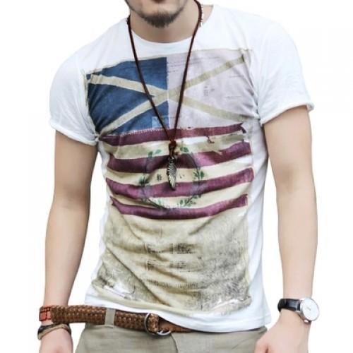 Summer Short Sleeve round neck T shirt