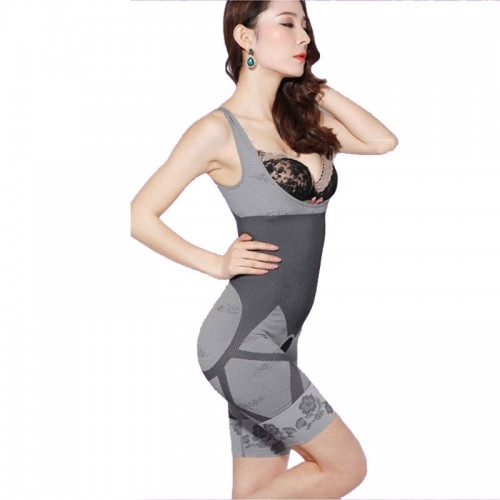 Womens High Quality Corset Slimming Suits Body Shaper Charcoal Sculpting Slimming Underwear