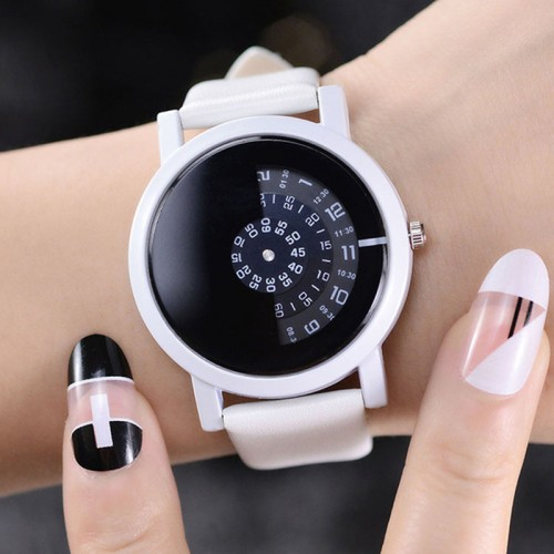 Special Digital Discs Creative Design Fashion Quartz Watch