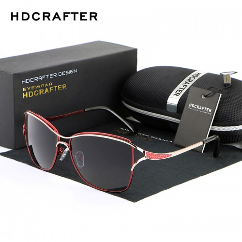 Metal Frame Polarized Fashion Glasses