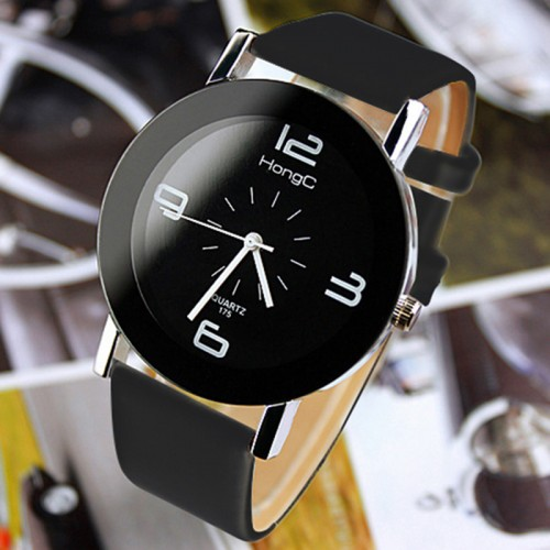 YAZOLE Fashion Wristwatch Fashionable Unique Leather Watchband Watch Women Quartz Dress Watch