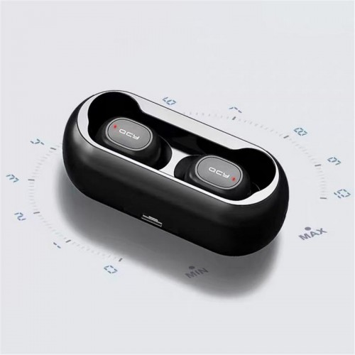 Mini Bluetooth Earphones With Mic Wireless Sports Headphones Noise Cancelling Headset and Charging Box