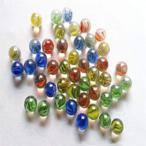 200 PCS Of Glass Balls 12mm Kids Playing Games, Pots And Aquarium Decorative Marbles Beads