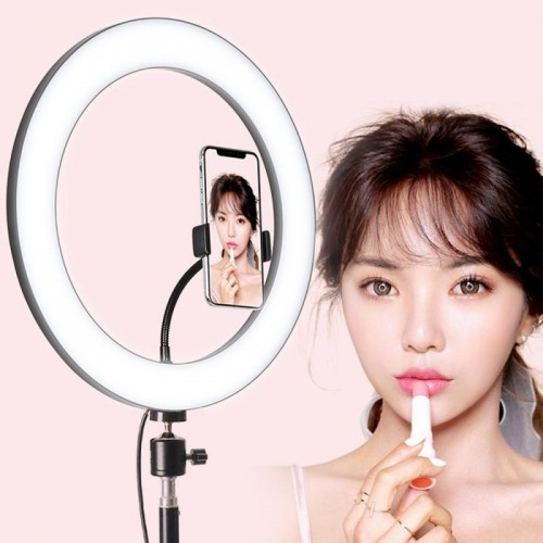26CM/10 Inch LED Selfie Ring Light Studio Photography Photo Ring Fill Light For Smartphone
