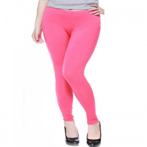 Plus Size Candy Colors Big Leggings for Women