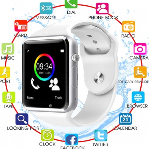 Bluetooth Wrist Smart Watch For Android Phone