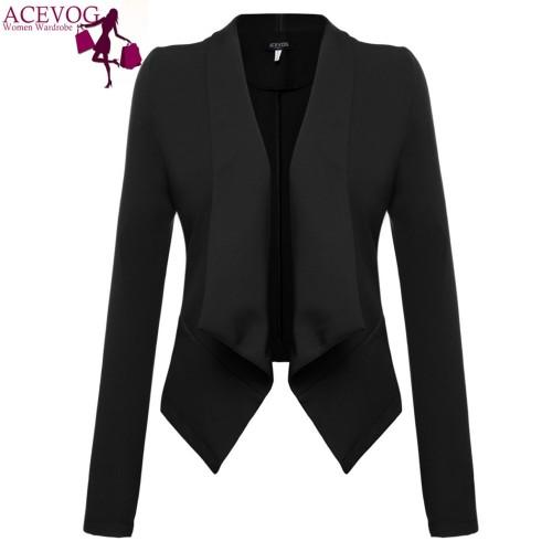 Long Sleeve Elegant Lady's Blazer