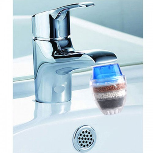 Activated Carbon Strainer Household Faucet Filter Purifier Water Treatment