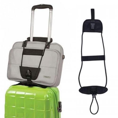 Bag Strap Travel Luggage Suitcase Elastic Adjustable Belt Carry On Bungee Strap