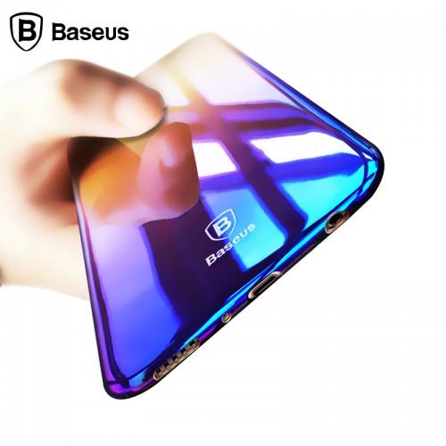 Baseus Case For Samsung Galaxy S8 / S8 Plus Luxury Gradient Color Hard PC Glaze Case Cover
