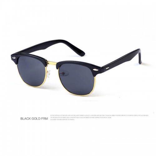 Classic Vintage Sunglasses Outdoor Retro Eyewear with Mirror Glass