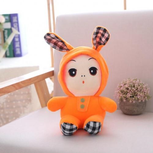Long-eared Rabbit Plush Doll Miniature Cute Toy