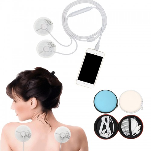 Creative Mobile Phone Line Control Portable Cervical Multi-function Small Back Head Full Body Massager