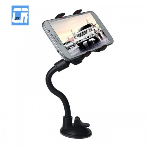 DCR Universal Car Phone Holder Gooseneck Stand Long Arm Windshield Cellphone Car Mount Bracket Support Telephone Voiture Stent