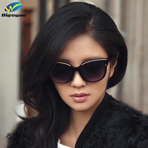 Women Cat Eye Frame Sun Glasses