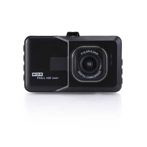 Vehicle BlackBox DVR Dash Cam Video Recorder LCD FHD Loop Recording