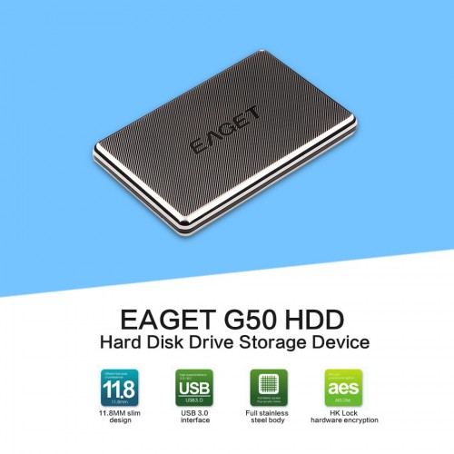 1TB USB3.0 External Hard Drive