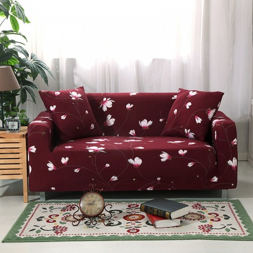 Elastic Sofa Cover Sectional Stretch Slipcovers for Living Room Couch Cover 1