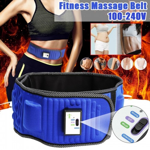 Electric Slimming Belt X5 Times Vibration Massage Weight Lose Burning Fat Shake Belt Waist Trainer