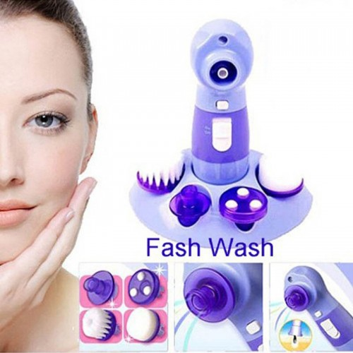 4 in 1 Pore Cleaner Face Skin Care Tool Brush Face Wash Massage Facial Cleaner Blackhead