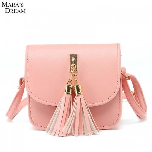 Fashion Small Chains Bag Women Candy Color Tassel Messenger Bags Female Handbag Shoulder Bag Women Bag