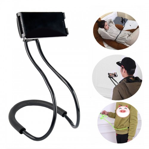 Flexible Lazy Hanging Neck Phone Stand Cellphone Support Bracket  Universal Holder For Phones