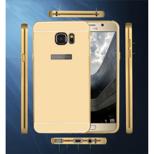 Mirror Aluminum Metal Frame Case For Samsung Note 3, 4, S6 Edge, S6 Edge Plus And S7 edge