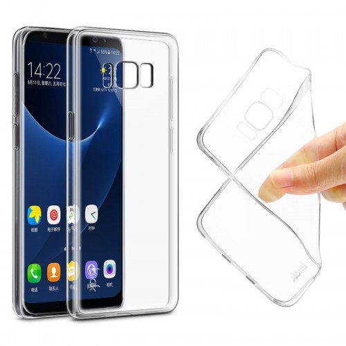Transparent Clear Soft TPU Case For Samsung Galaxy S8 Silicon Back Cover