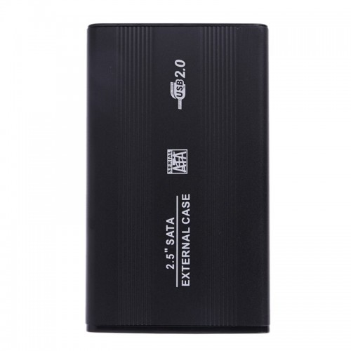 2.5 Inch HDD External Enclosure Case Metal External Storage Box For Sata to USB 2.0 With USB Cable