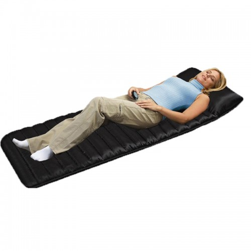 Full Body Household Tourmaline Massage Mattress Heating Vibrating Head Neck Electronic Massage Therapy