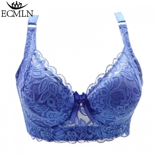 Full Cup Latest Fashion Women Lace Adjustable Bra