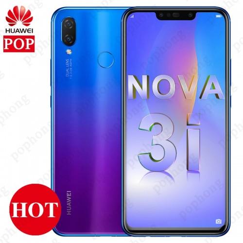 Huawei nova 3i Mobile Phone 6.3 inch Kirin710 Octa Core FingerPrint ID