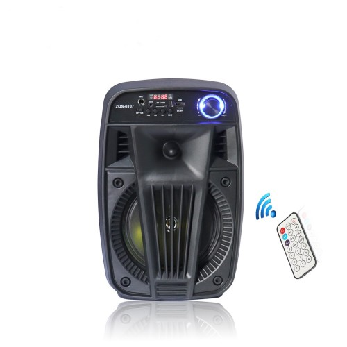 Handheld Speaker Stereo Wireless Bluetooth Digital Outdoor Support Tf Usb Aux Fm Remote Control