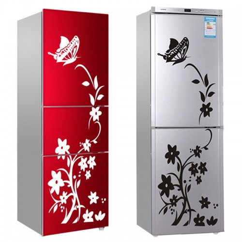 Wall Sticker Refrigerator Sticker Butterfly Pattern Wall Stickers Home Decor Wallpaper