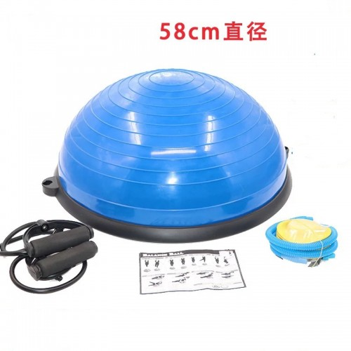 58CM Inflatable Yoga Balance Ball Strength Training Equipment Yoga Endurance Workout Fitness Ball