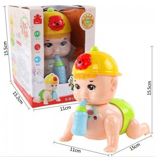 Hot Funny Singing Crawling Electronic Baby Children Kids Toys