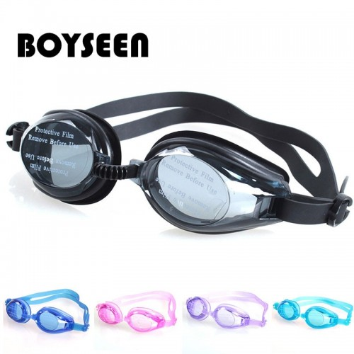 Swimming Glasses Adjustable Professional Goggles Protect Children Waterproof Silicone Eyewear